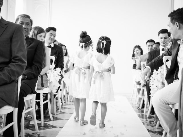 Le mariage de Jean Baptiste et Theresia à Paris, Paris 22
