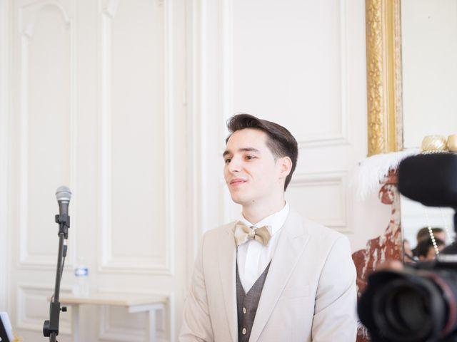 Le mariage de Jean Baptiste et Theresia à Paris, Paris 24