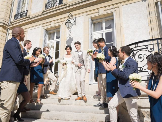 Le mariage de Jean Baptiste et Theresia à Paris, Paris 44