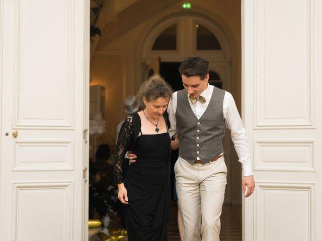 Le mariage de Jean Baptiste et Theresia à Paris, Paris 91
