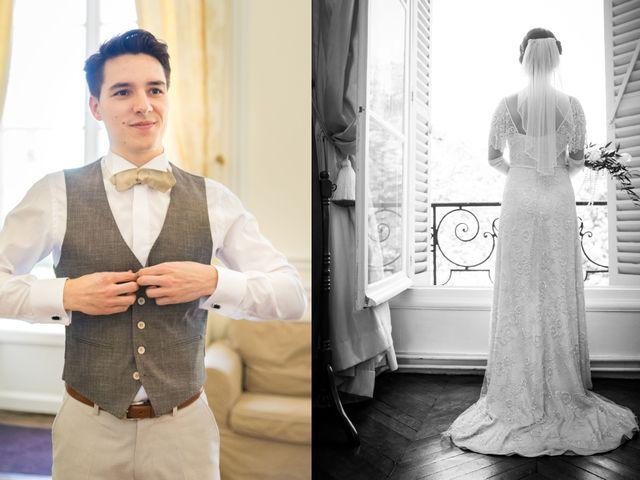 Le mariage de Jean Baptiste et Theresia à Paris, Paris 20