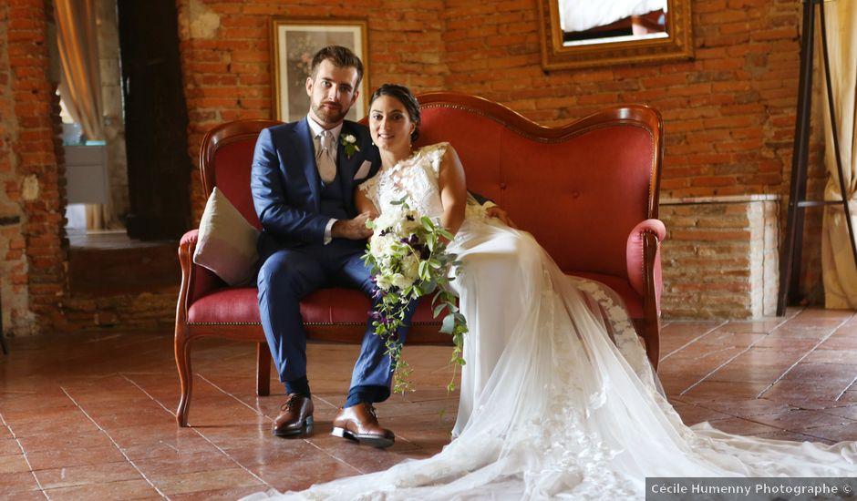 Le mariage de Guillaume et Emmeline à Launac, Haute-Garonne