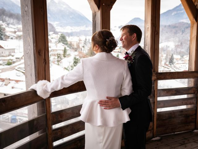 Le mariage de Chris et Virginie à Faverges, Haute-Savoie 7