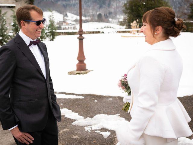 Le mariage de Chris et Virginie à Faverges, Haute-Savoie 10