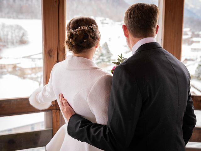 Le mariage de Chris et Virginie à Faverges, Haute-Savoie 13