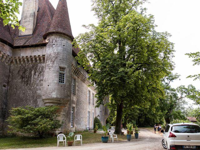 Le mariage de Aymeric et Noémie à Saint-Astier, Dordogne 1