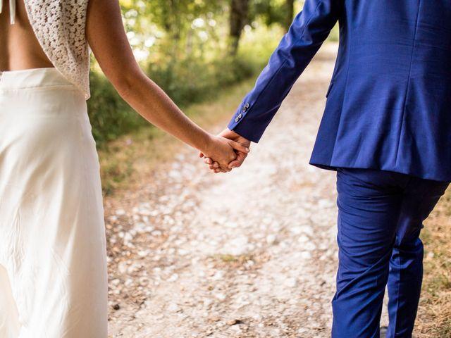Le mariage de Aymeric et Noémie à Saint-Astier, Dordogne 23