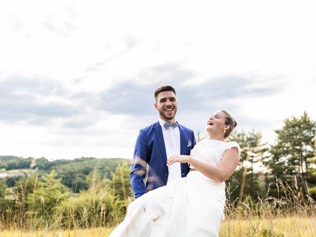 Le mariage de Aymeric et Noémie à Saint-Astier, Dordogne 28