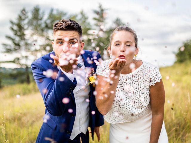 Le mariage de Aymeric et Noémie à Saint-Astier, Dordogne 32