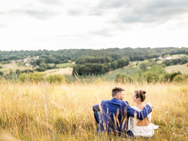 Le mariage de Aymeric et Noémie à Saint-Astier, Dordogne 34