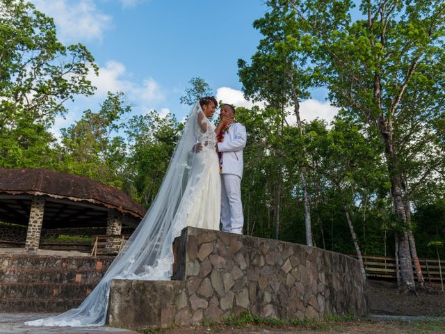 Le mariage de Maelan et Maeva à Rivière-Salée, Martinique 16