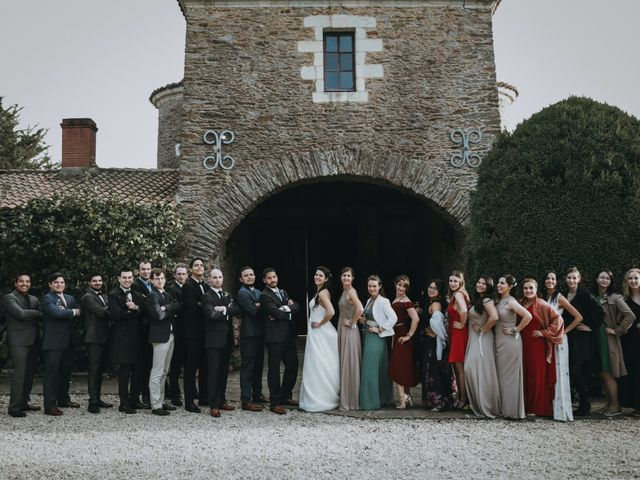 Le mariage de Rafael et Sandrine à Haute-Goulaine, Loire Atlantique 83