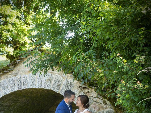 Le mariage de Florian et Elodie à Sévérac-le-Château, Aveyron 12