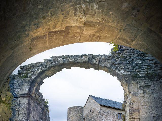 Le mariage de Florian et Elodie à Sévérac-le-Château, Aveyron 15