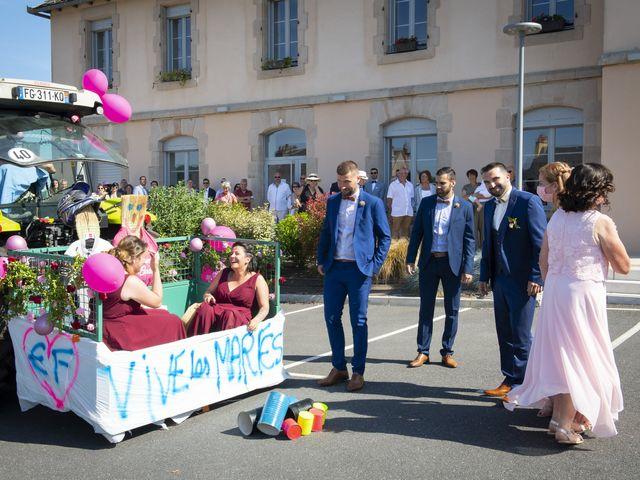 Le mariage de Florian et Elodie à Sévérac-le-Château, Aveyron 64