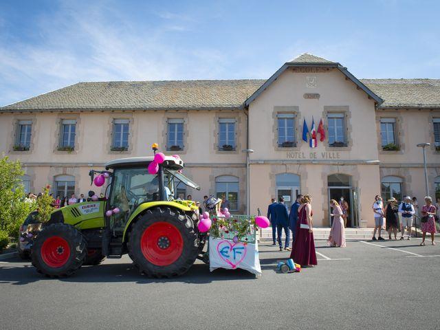 Le mariage de Florian et Elodie à Sévérac-le-Château, Aveyron 65