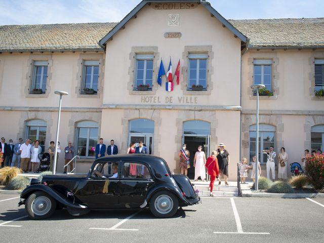 Le mariage de Florian et Elodie à Sévérac-le-Château, Aveyron 66