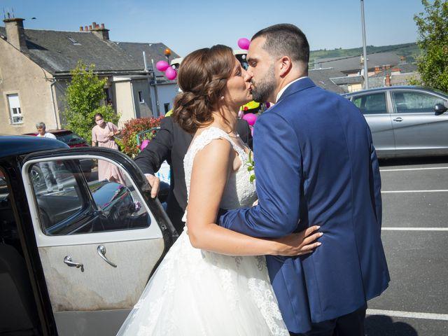 Le mariage de Florian et Elodie à Sévérac-le-Château, Aveyron 69