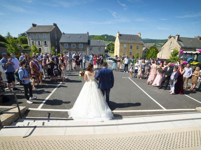 Le mariage de Florian et Elodie à Sévérac-le-Château, Aveyron 87