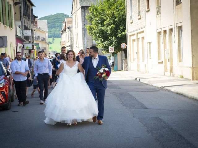 Le mariage de Florian et Elodie à Sévérac-le-Château, Aveyron 91