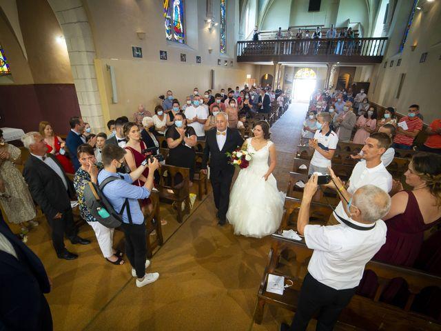 Le mariage de Florian et Elodie à Sévérac-le-Château, Aveyron 96