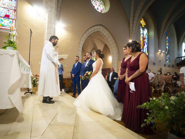Le mariage de Florian et Elodie à Sévérac-le-Château, Aveyron 104