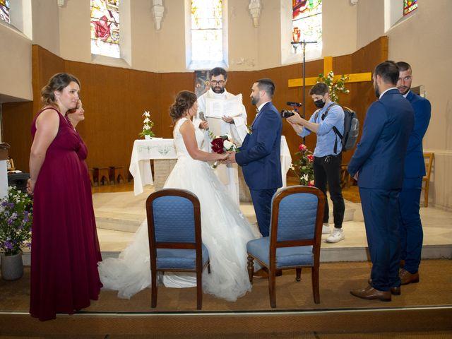 Le mariage de Florian et Elodie à Sévérac-le-Château, Aveyron 105