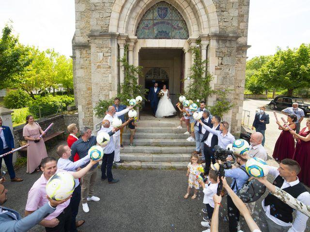 Le mariage de Florian et Elodie à Sévérac-le-Château, Aveyron 119