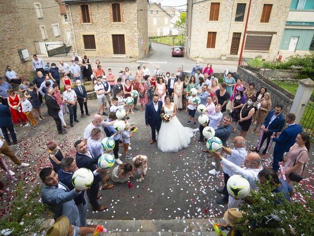 Le mariage de Florian et Elodie à Sévérac-le-Château, Aveyron 123