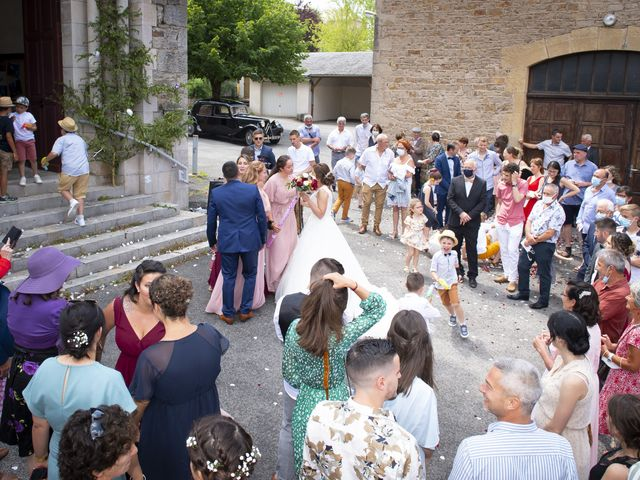 Le mariage de Florian et Elodie à Sévérac-le-Château, Aveyron 124