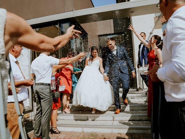 Le mariage de Corentin et Enna à Wolfisheim, Bas Rhin 50