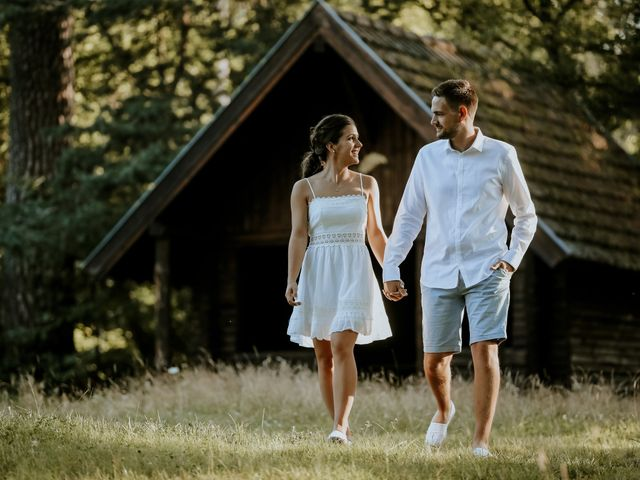 Le mariage de Corentin et Enna à Wolfisheim, Bas Rhin 94