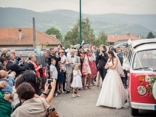 Le mariage de Thibault et Sandrine à Brives-Charensac, Haute-Loire 36