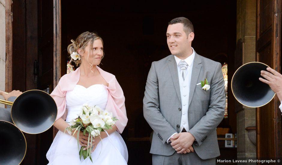 Le mariage de Loïc et Johanna à Genlis, Côte d'Or