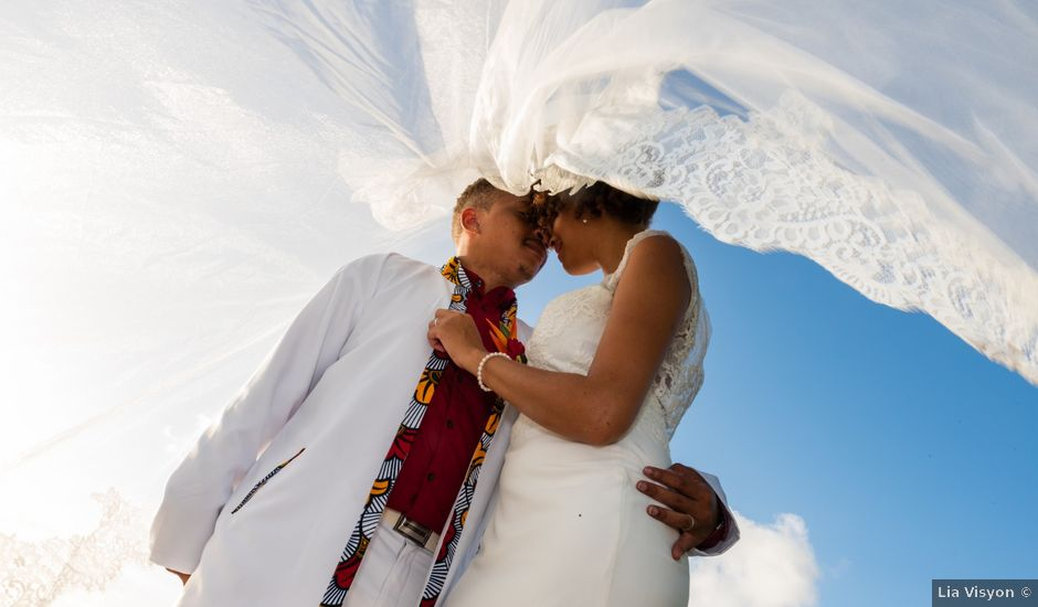 Le mariage de Maelan et Maeva à Rivière-Salée, Martinique