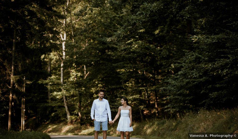 Le mariage de Corentin et Enna à Wolfisheim, Bas Rhin