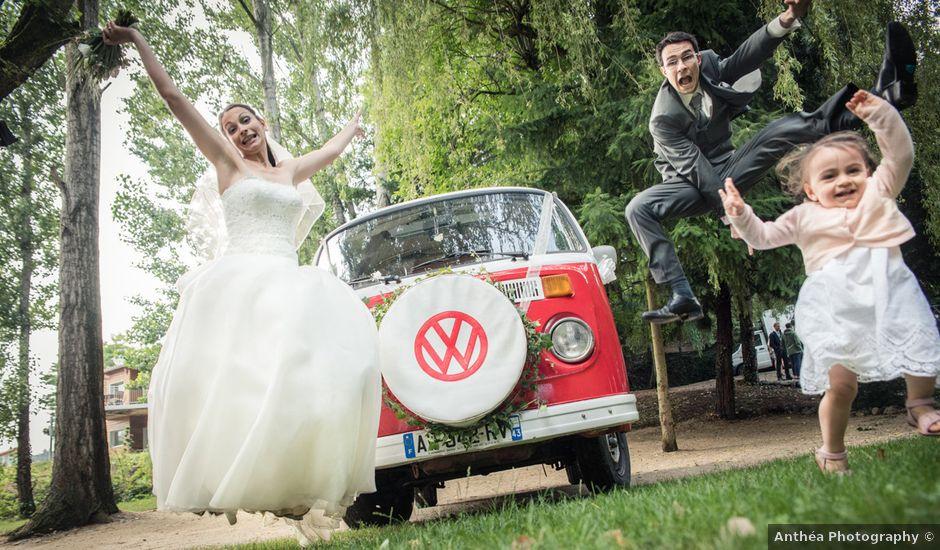Le mariage de Thibault et Sandrine à Brives-Charensac, Haute-Loire