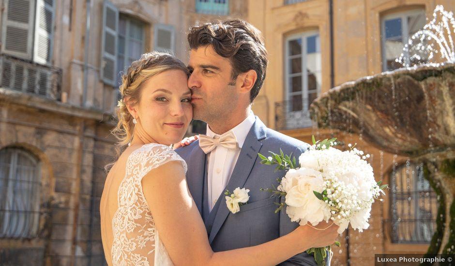 Le mariage de Loic et Anna à Aix-en-Provence, Bouches-du-Rhône