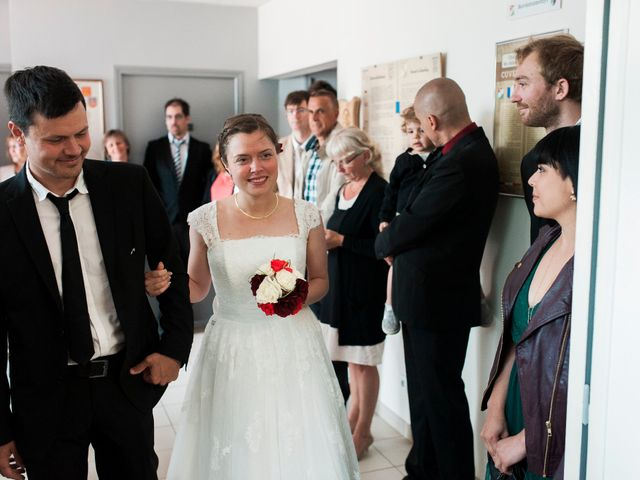 Le mariage de Florian et Jennifer à Cuverville, Calvados 5
