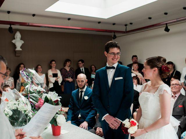 Le mariage de Florian et Jennifer à Cuverville, Calvados 16