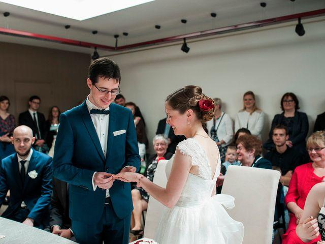 Le mariage de Florian et Jennifer à Cuverville, Calvados 20