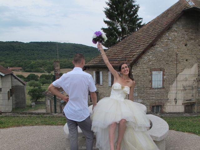 Le mariage de Clément et Elise à Abbans-Dessus, Doubs 25