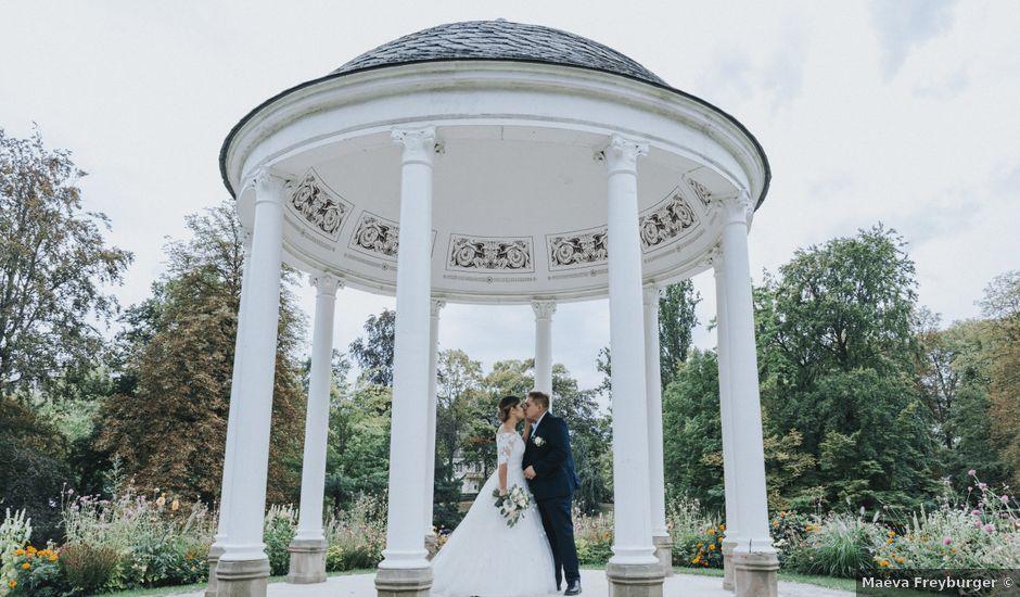 Le mariage de Samy et Maéva à Rountzenheim, Bas Rhin