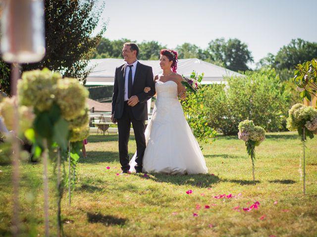 Le mariage de Christophe et Anne Lise à Coufouleux, Tarn 17