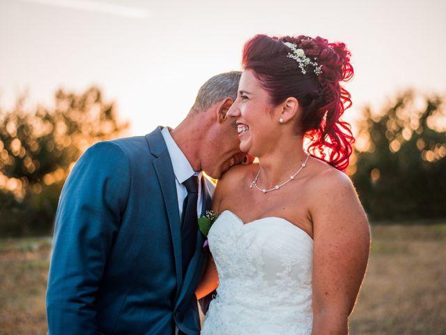 Le mariage de Christophe et Anne Lise à Coufouleux, Tarn 1