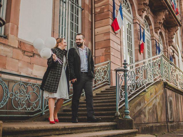 Le mariage de Franck et Aurore à Strasbourg, Bas Rhin 48
