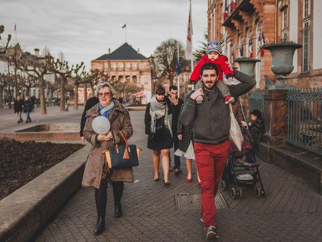 Le mariage de Franck et Aurore à Strasbourg, Bas Rhin 67