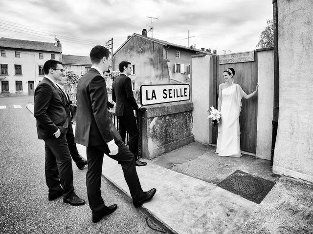 Le mariage de Mathieu et Marie à Vic-sur-Seille, Moselle 12