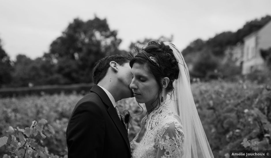 Le mariage de Jean et Cécile à Vouvray, Indre-et-Loire