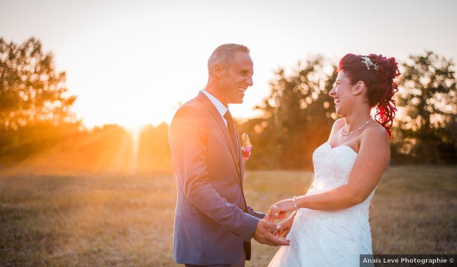 Le mariage de Christophe et Anne Lise à Coufouleux, Tarn